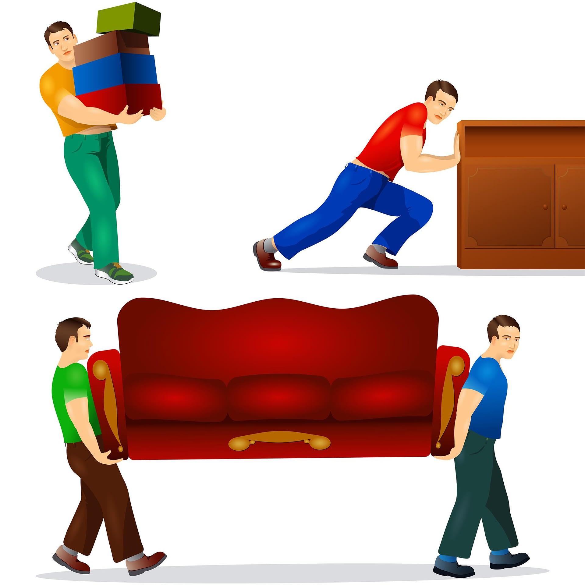 Furniture removal in Pembroke Pines FL